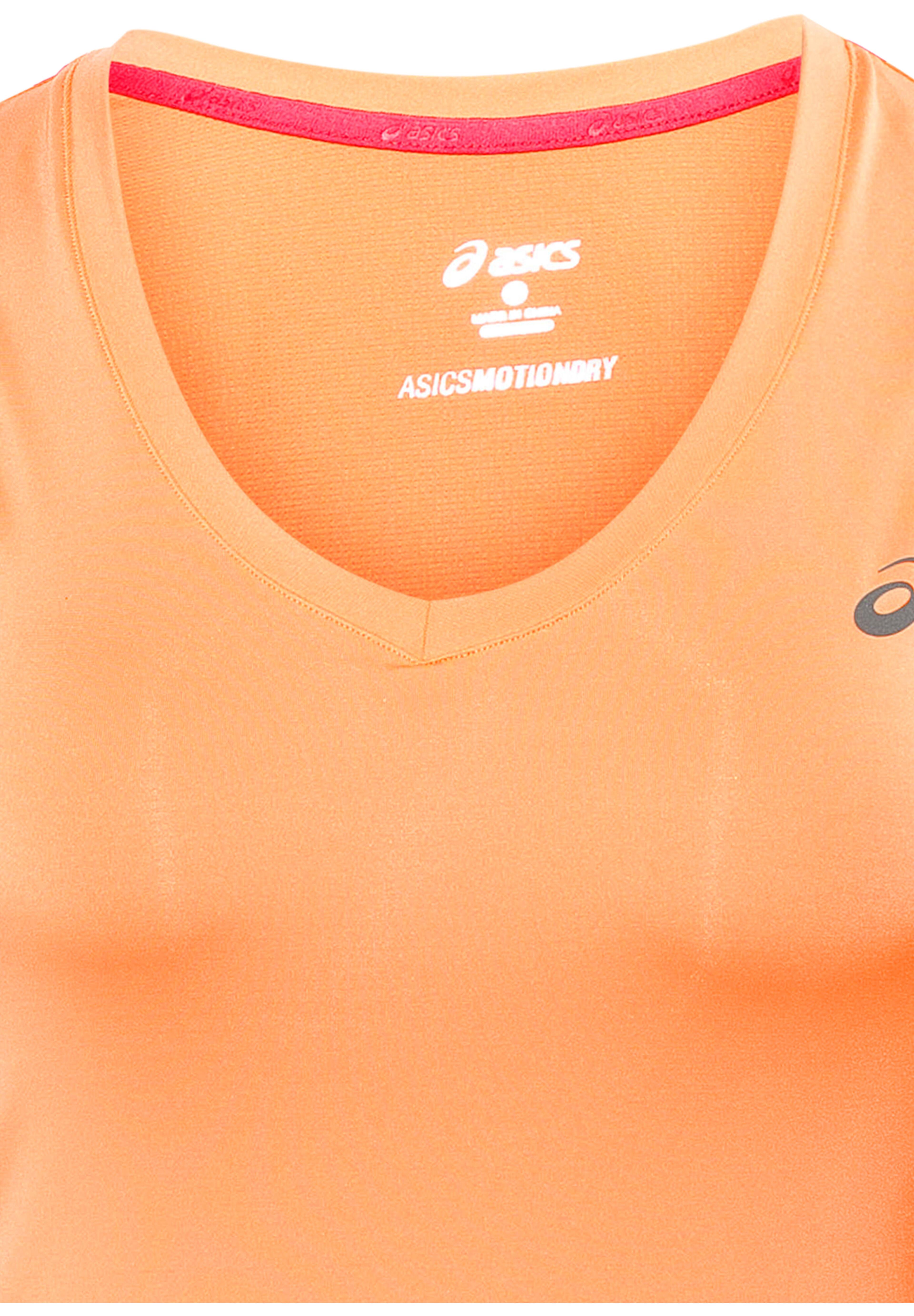 280d2cdeae1 asics Tank Top Hardloopshirt korte mouwen Dames oranje l Online ...